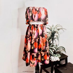 Dresses & Skirts - Floral Two Piece